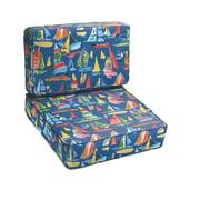 Mozaic Company Marina 2 Piece Outdoor Chair Cushion Set