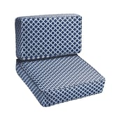 Mozaic Company Hackly 2 Piece Outdoor Chair Cushion Set