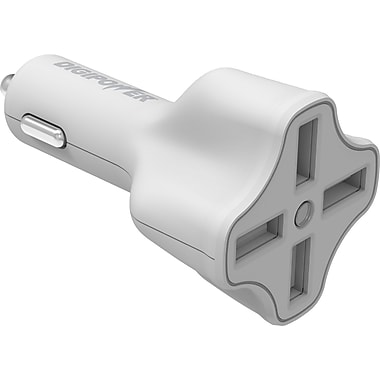 Digipower 4 Port USB Car Charger with InstaSense Technology