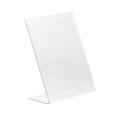 Kostklip® L-Style, Angled, One Piece Sign Holder, 11