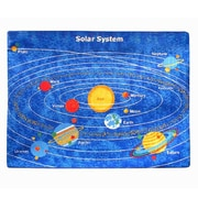 Sintechno Inc Planets Solar System Area Rug