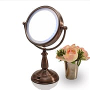Ovente Dual Sided LED Lighted Mirror