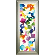 ClassyArtWholesalers 'Colorful Cubes II' by Wild Apple Portfolio Framed Graphic Art