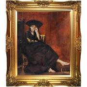 Tori Home Berthe Morisot with a Fan Canvas Art