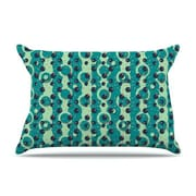 KESS InHouse Bubbles Made of Paper by Akwaflorell Cotton Pillow Sham
