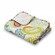 Where the Polka Dots Roam Elle Quilted Throw Blanket