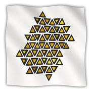 KESS InHouse Inca Tribe Fleece Throw Blanket; 40'' L x 30'' W
