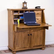 Sunny Designs Armoire Desk; Rustic Oak