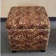 NOYA USA Leopard Storage Ottoman