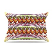 KESS InHouse Colorful Traditional by Famenxt Digital Cotton Pillow Sham