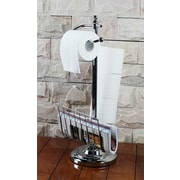 Hopeful Enterprise Toilet Paper Holder w/ Magazine Rack