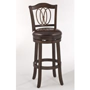 Hillsdale Lyndale Swivel Bar Stool with Cushion; 26''