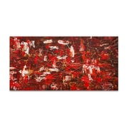 Artefx Decor Red Matter by Carmen Guedez Painting Print on Canvas