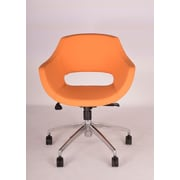 Modern Chairs USA Mid-Back Office Chair; Orange