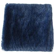 Anna Ricci Faux Long Fur Throw Blanket; Dark Blue