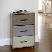 Household Essentials 3 Drawer Storage Chest