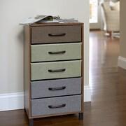 Household Essentials 5 Drawer Storage Chest