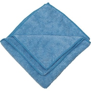 "Zwipes 16 x 16"" Microfiber Cleaning Towel, Blue Package Of 12 (H1-725)"
