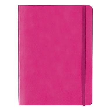 Letts® Edge Notebook, Fuchsia, (LEN5ERPE)