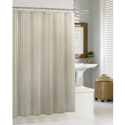 Kassatex Cotton Blend Chevron Shower Curtain