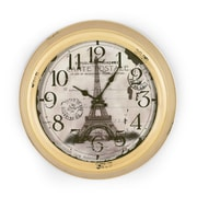 AdecoTrading 18.5'' Family Tree Scroll Wall Hanging Clock