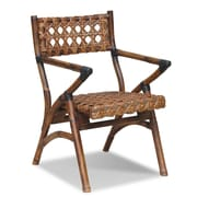 Jeffan Sahara Folding Arm Chair; Natural