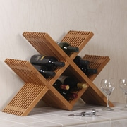 Seville Classics 16 Bottle Tabletop Wine Rack