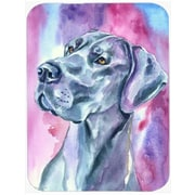 Caroline's Treasures Great Dane Mood Glass Cutting Board
