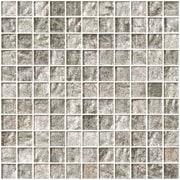 SusanJablon 1'' x 1'' Glass Mosaic Tile in Crushed Crystal