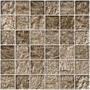 SusanJablon 2'' x 2'' Glass Mosaic Tile in Espresso Brown