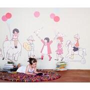 Pop & Lolli Sarah Jane on Parade Wall Decal; Large