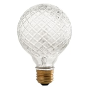 SmartElectric 45W Cut Crystal G25 Halogen Light Bulb