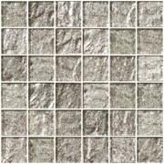 SusanJablon 2'' x 2'' Glass Mosaic Tile in Crushed Crystal