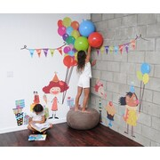 Pop & Lolli Congratulations! and Celebrations! Birthday Overlay Wall Decal