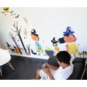 Pop & Lolli Peek-A-Boo! Hoo! Hoo! Halloween Overlay Wall Decal