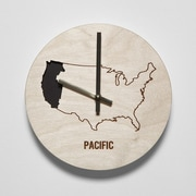 Reed Wilson Design 8'' Pacific Time Zone Clock
