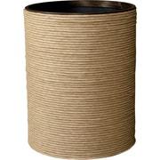LaMont Hand Spun Wastebasket; Natural