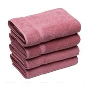 Makroteks Textile L.L.C. Cambridge Bath Towel (Set of 4); Rose