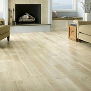 Albero Valley Antebellum 6'' Engineered Oak Hardwood Flooring in Magnolia