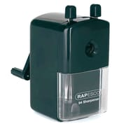 Rapesco® 94 Desktop Pencil Sharpener, Manual, Black (RAPR94000B2)