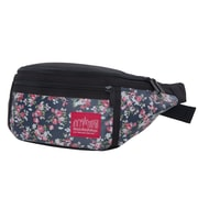 Manhattan Portage Floral Print Alleycat Waist Bag Black (1101-FLORAL BLK)