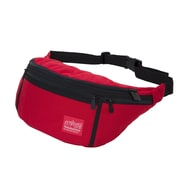 Manhattan Portage Alleycat Waist Bag Large  with Zipper Red (1102Z RED)