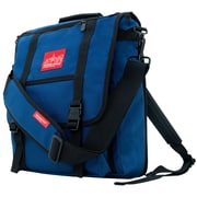 Manhattan Portage Commuter Laptop Bag with Back Zipper Navy (1417Z NVY)