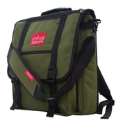 Manhattan Portage Commuter Laptop Bag with Back Zipper Olive (1417Z OLV)
