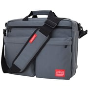 Manhattan Portage Tribeca Bag with Back Zipper Grey (1446Z GRY)