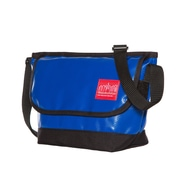 Manhattan Portage Vinyl Messenger Bag (1603-VL-2 NVY)