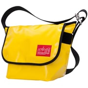 Manhattan Portage Vinyl Vintage Messenger Bag Small Yellow (1605V-VL YEL)