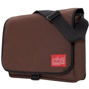 Manhattan Portage Dj Computer Bag Deluxe Medium Dark Brown (1714 DBR)
