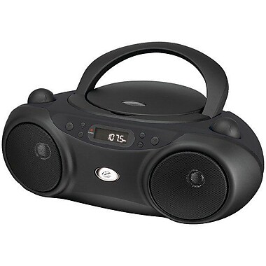 GPX® BC232BU Portable Sporty CD and Radio Boombox
