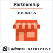 Adams General Partnership Agreement, 1-User, Instant Web Downloaded Form